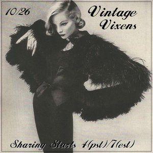 MONDAY10/26 Vintage Vixens Sign Up Sheet